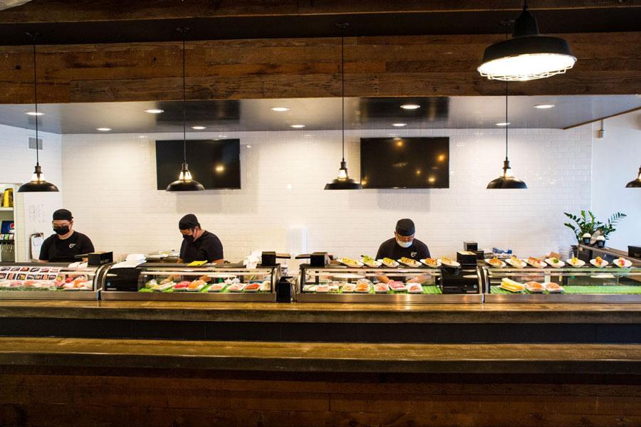 Sushi chefs hard at work at Vista's Mikko Sushi. Courtesy photo.