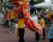 Dragons at Asian Fest