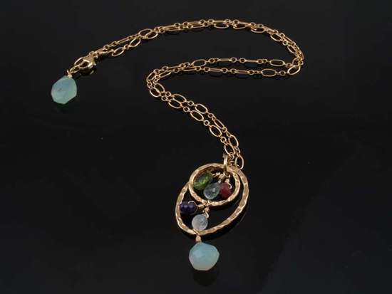 Mother's Necklace from Christine Marguerite Designs