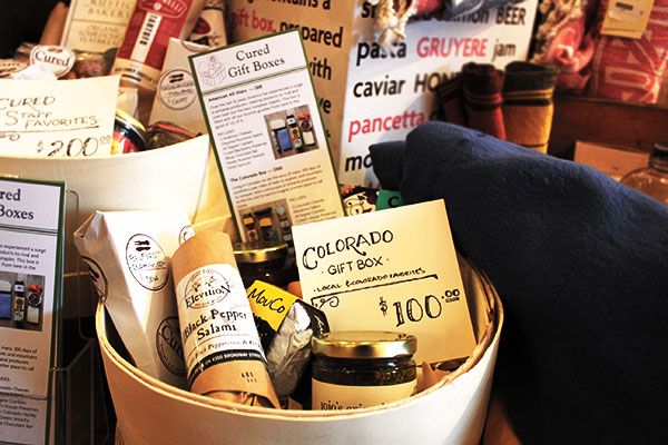 Specialty Crafted Gift Basket from Cured
