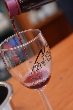 Taste of Pearl Wine Pouring photo