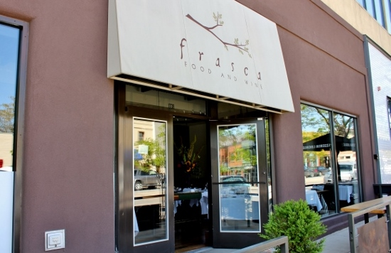 Wine and Dine at Frasca