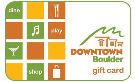 Downtown Boulder Gift Card from Downtown Boulder, Inc.