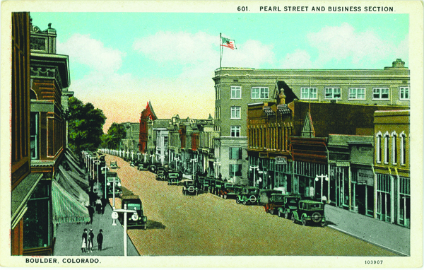 drawing of pearl street mall