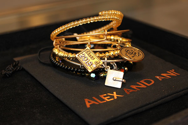 Stack-able Bracelets for the Grad at Alex and Ani