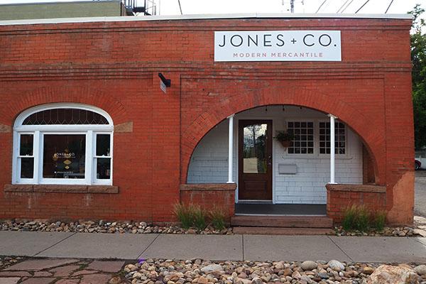 JONES + CO Modern Mercantile