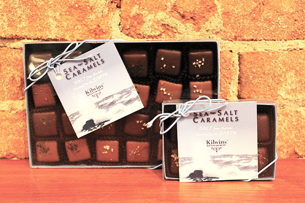 Sea Salt Caramels from Kilwins