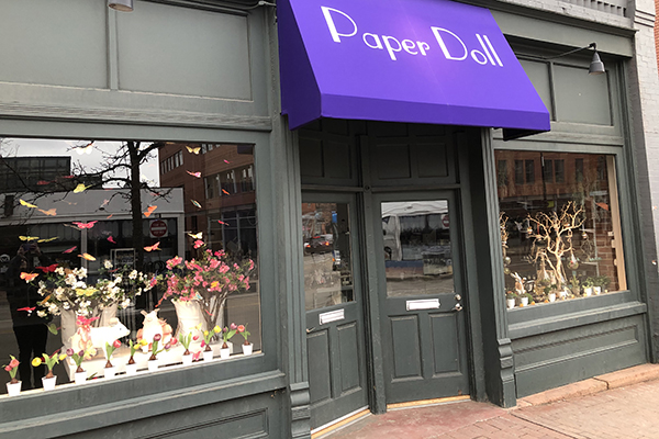 Photo of Paper Doll store front