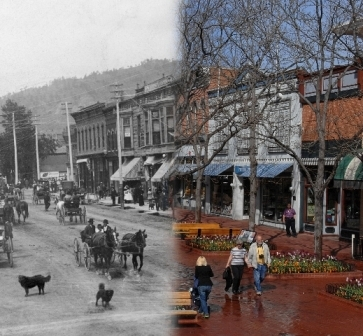 Visit | History of Pearl Street | Downtown Boulder, CO
