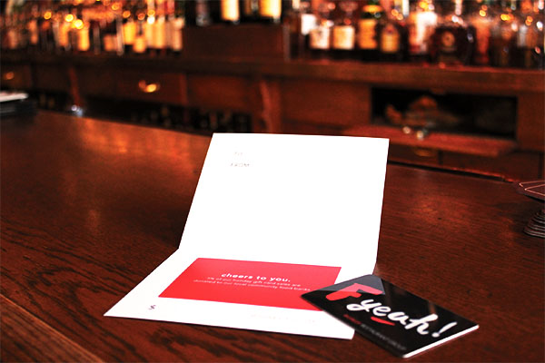 Big Red F Gift Card from any Big Red F Location