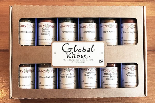 Global Spices from Savory Spice Shop