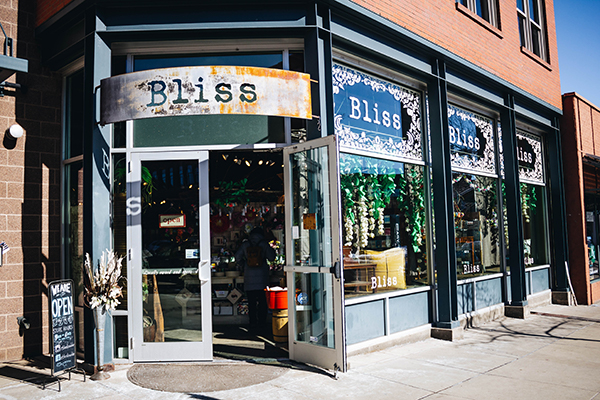 Bliss store front
