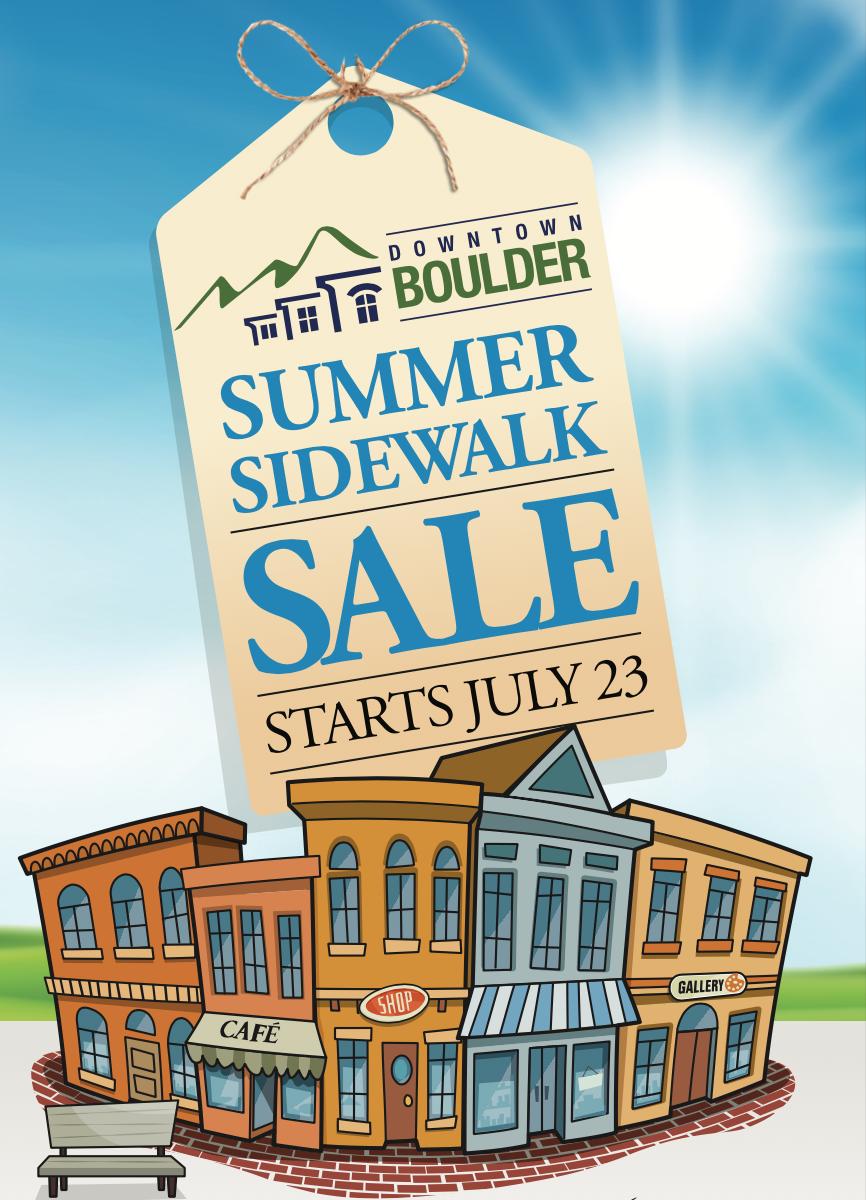 tag that reads: Summer Sidewalk Sale