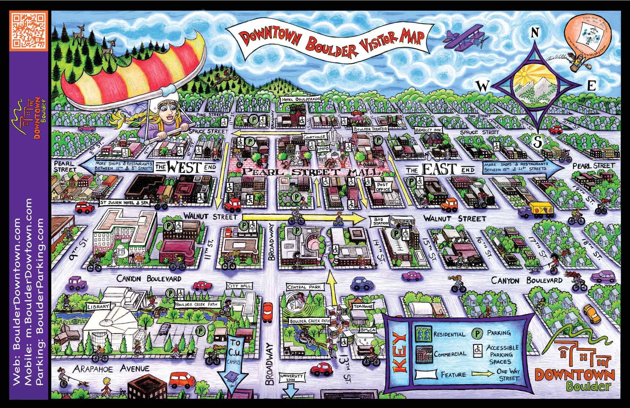 Maps – Colorado Tourist Map