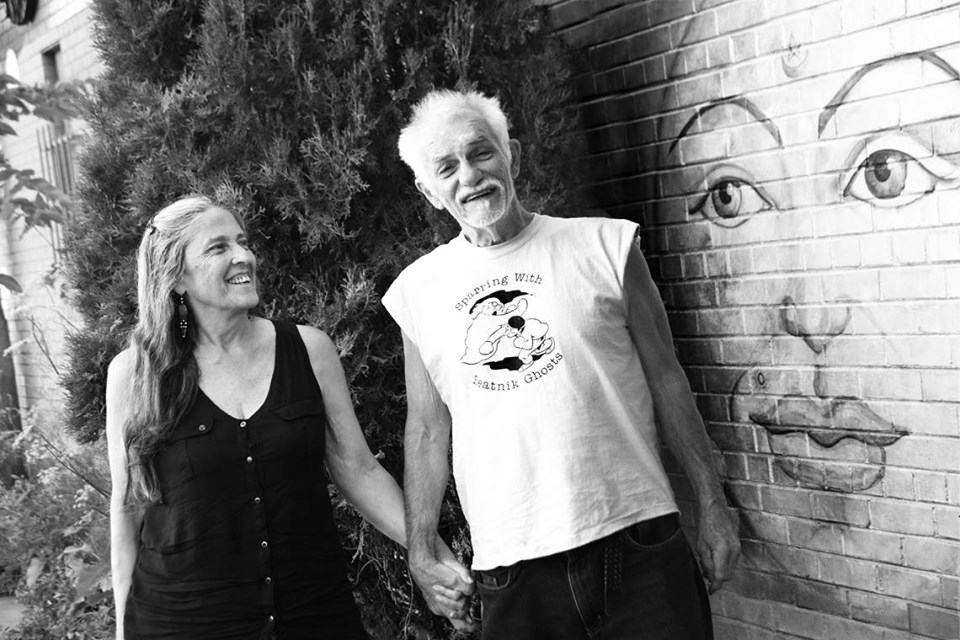 Woodstock Beat Poets Andy Clausen and Pamela Twining