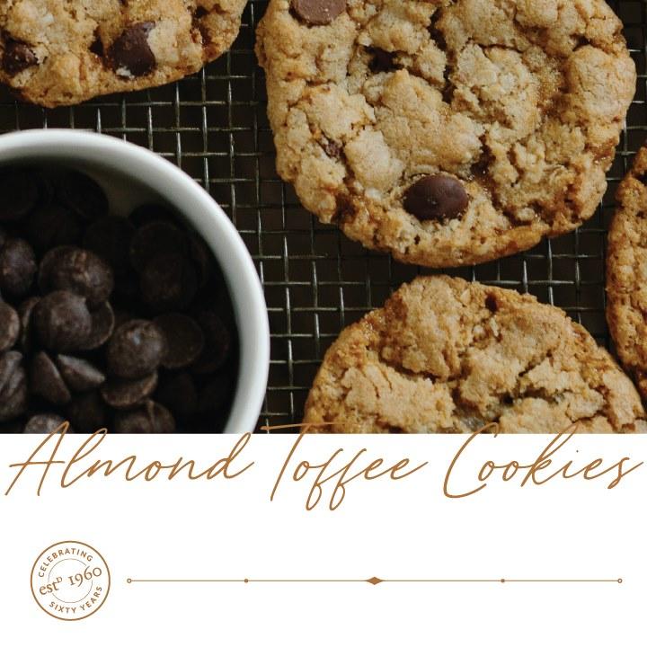 Almond Toffee Cookies