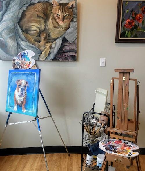 Cynthia Barnes - Artist in Residence