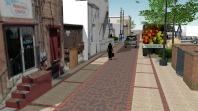 400 block alley rendering
