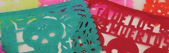 papel picado or paper banners