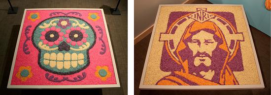 tapete de arena or carpets of sand