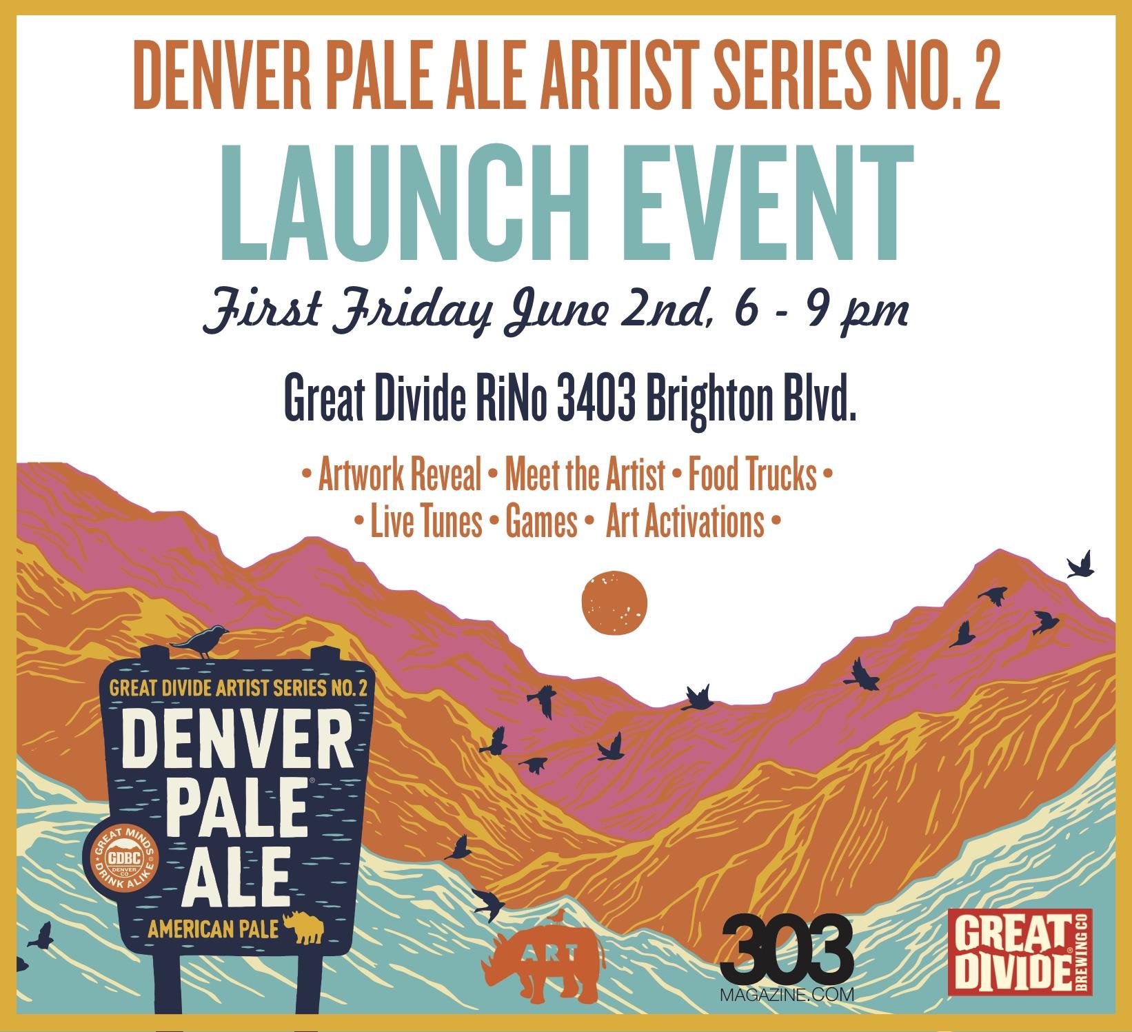 Denver Pale Ale Launch Party/ RiNo Art District / Denver CO
