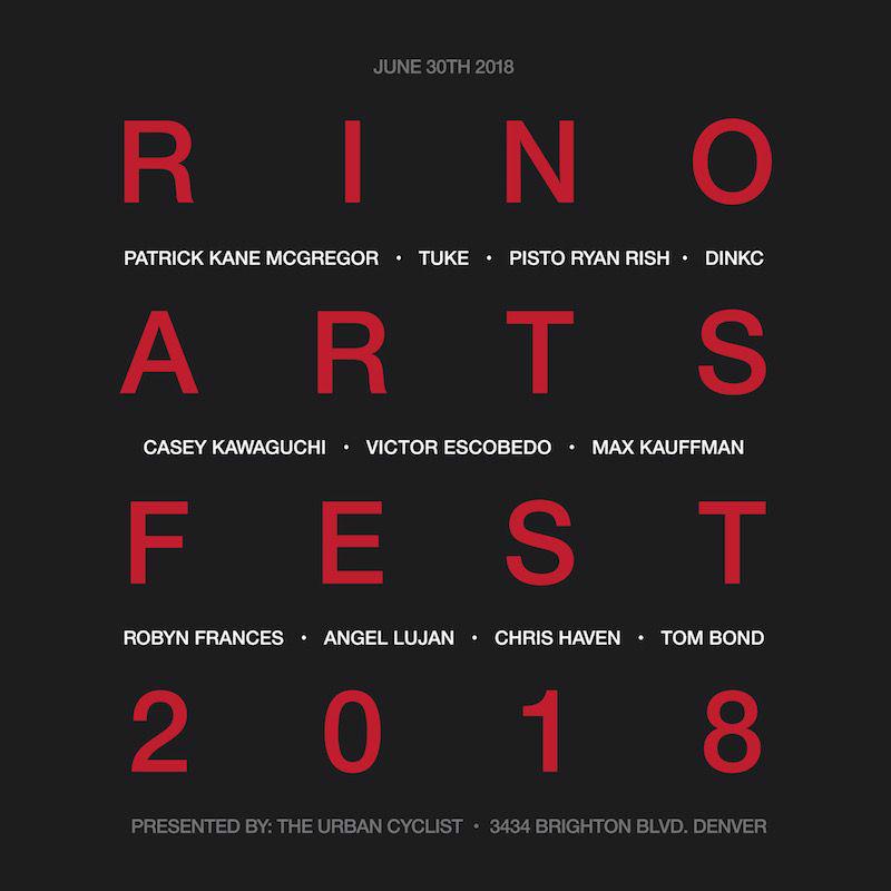 RiNo Arts Fest 2018/ RiNo Art District / Denver CO