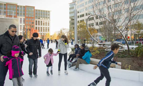 Canal Park Ice Rink 1