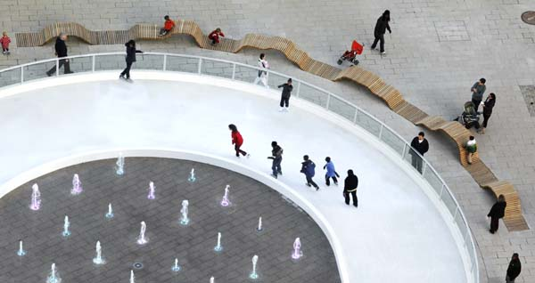 Canal Park Ice Rink 2