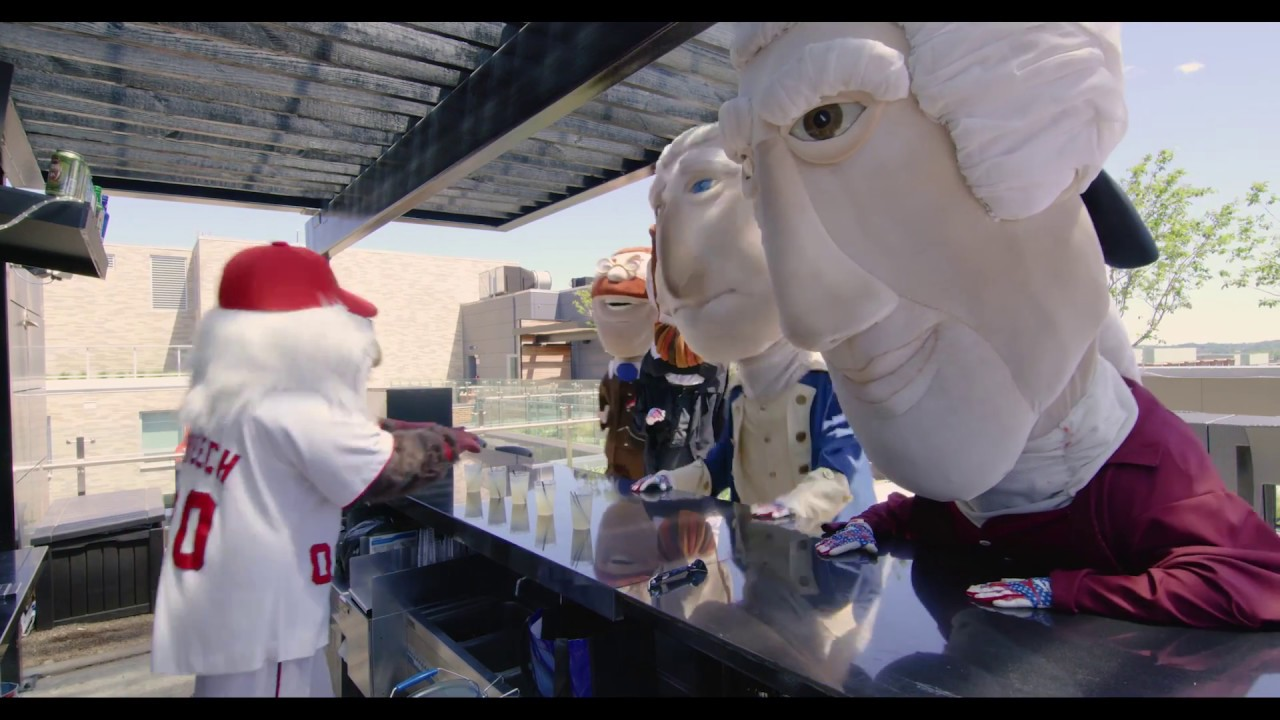 Capitol Riverfront Drive Time Video - Racing Presidents