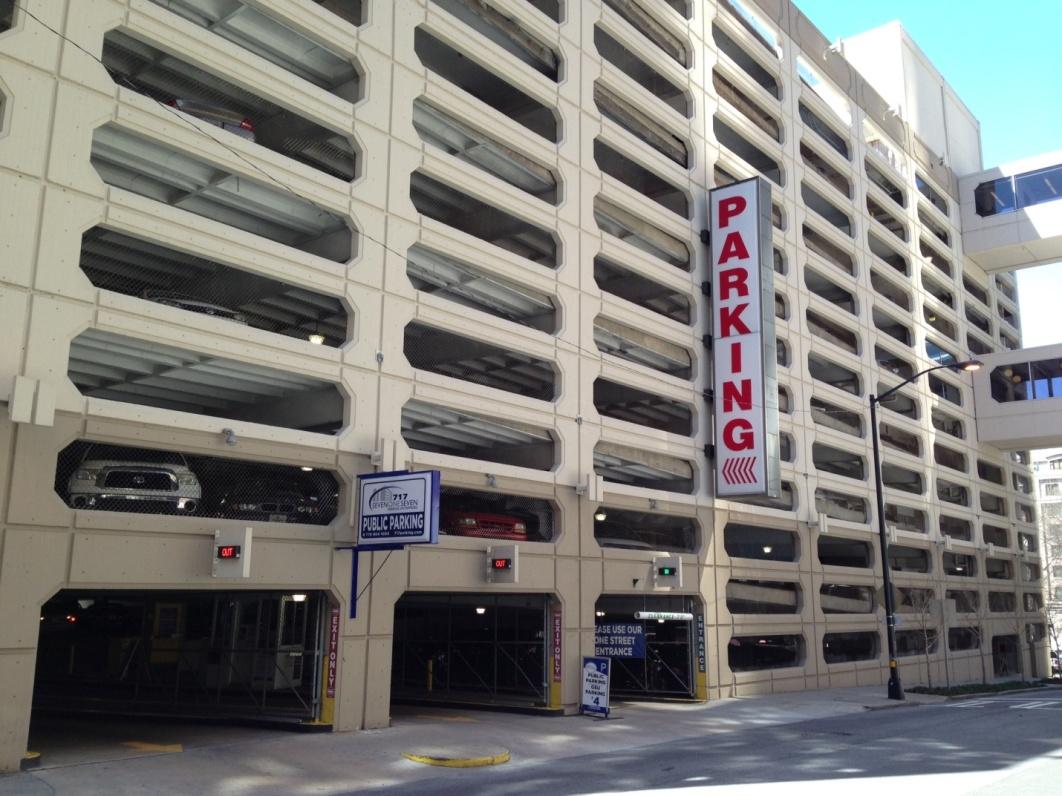 150 Carnegie Way Parking Garage – Parking Garage Business Plan