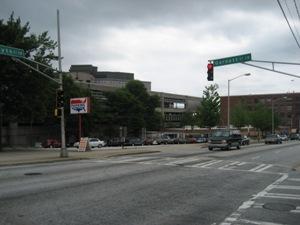Greyhound Station Parking Lot Downtown Atlanta Ga