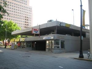 Candler Building Parking Garage Downtown Atlanta Ga