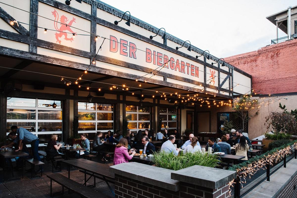 Der Biergarten Downtown Atlanta GA