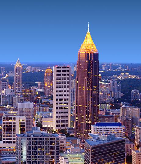 Bank of America Plaza Downtown Atlanta GA
