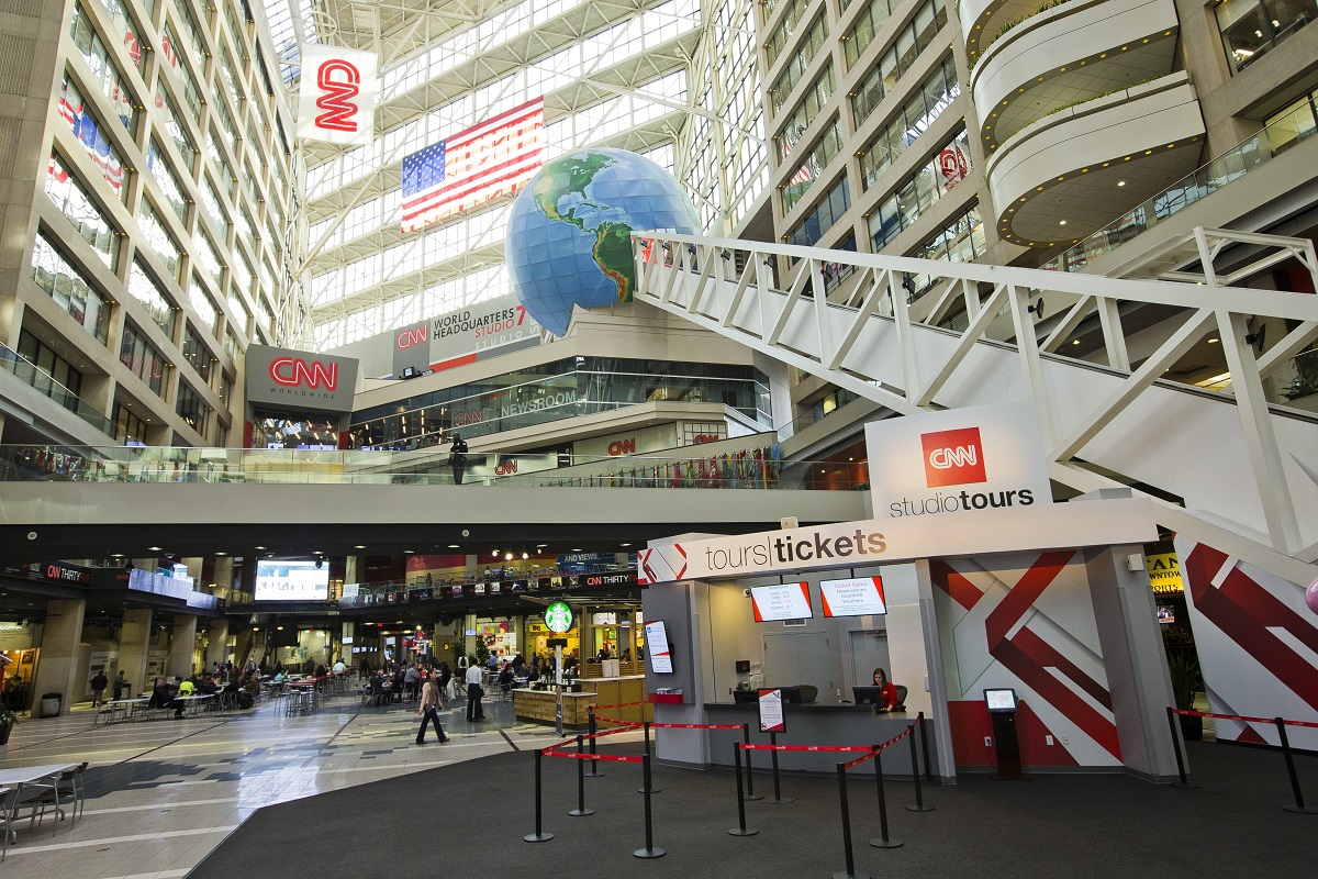 cnn center cnn studio tours downtown atlanta ga