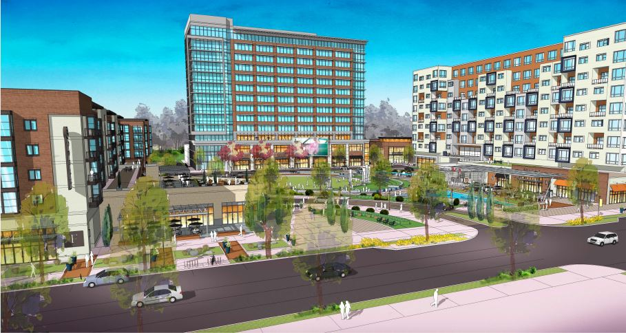Civic Center Redevelopment Rendering