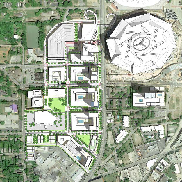 Downtown Atlanta Investment Map
