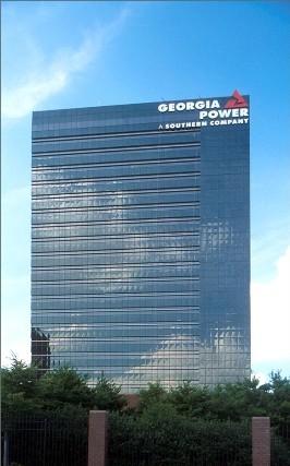 Georgia Power Building Downtown Atlanta Ga