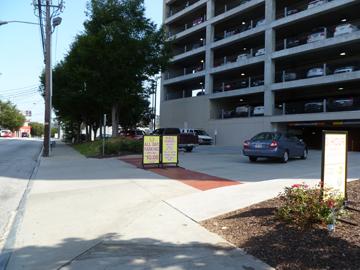 hilton garden inn parking garage downtown atlanta ga