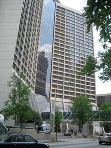 Hilton Parking Garage Downtown Atlanta Ga