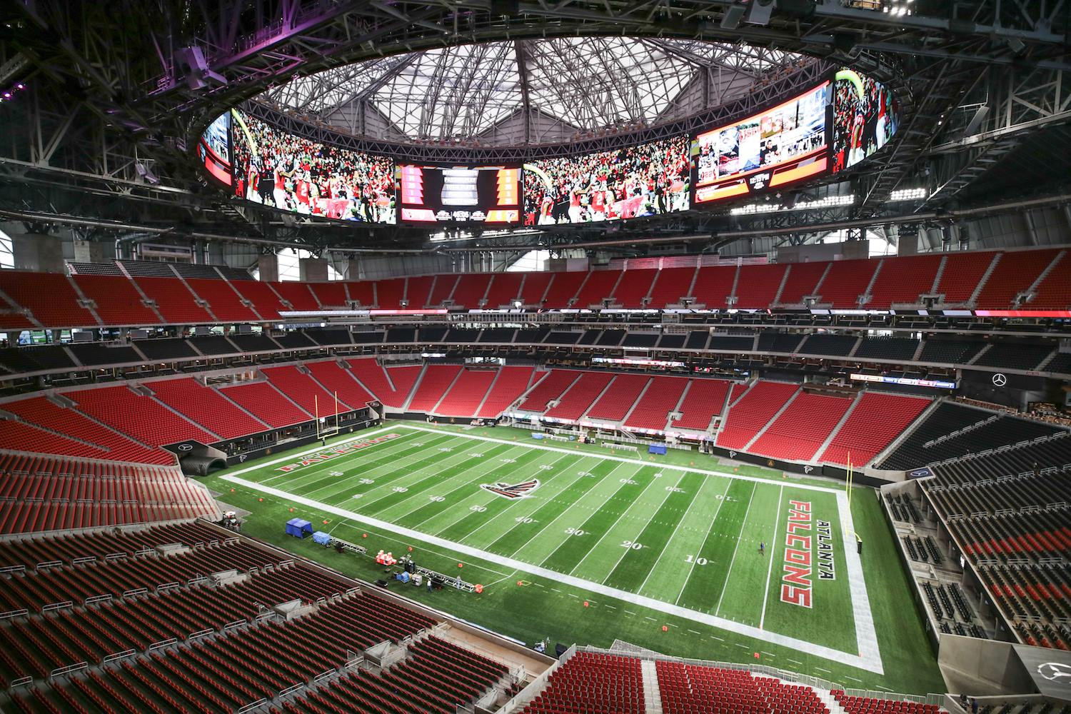 mercedes benz stadium downtown atlanta ga