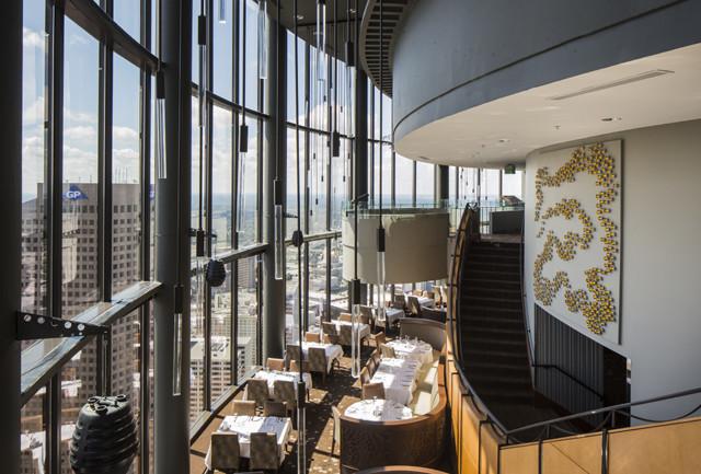 Sun Dial Restaurant Bar View