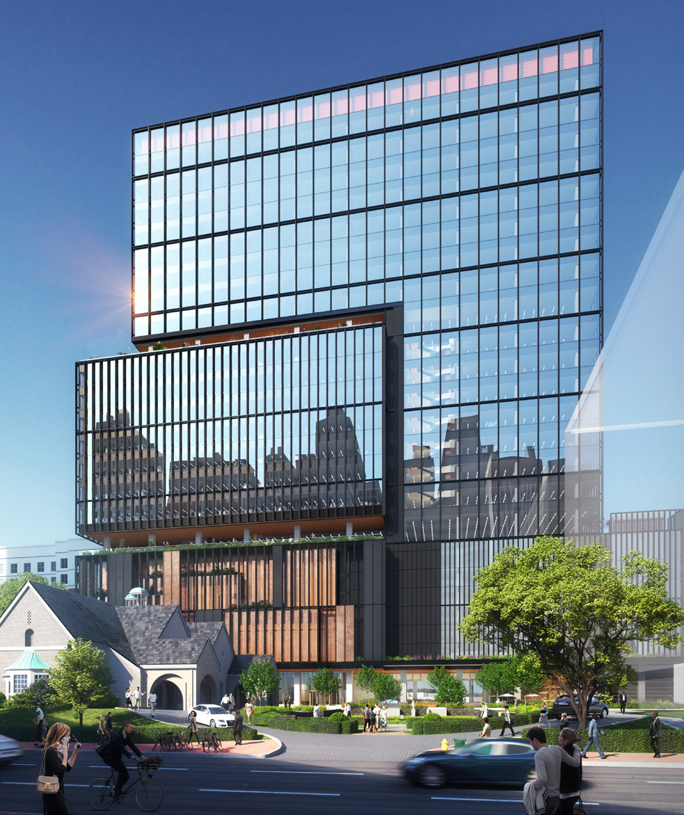 A rendering of Phase II of 1020 Spring Street.