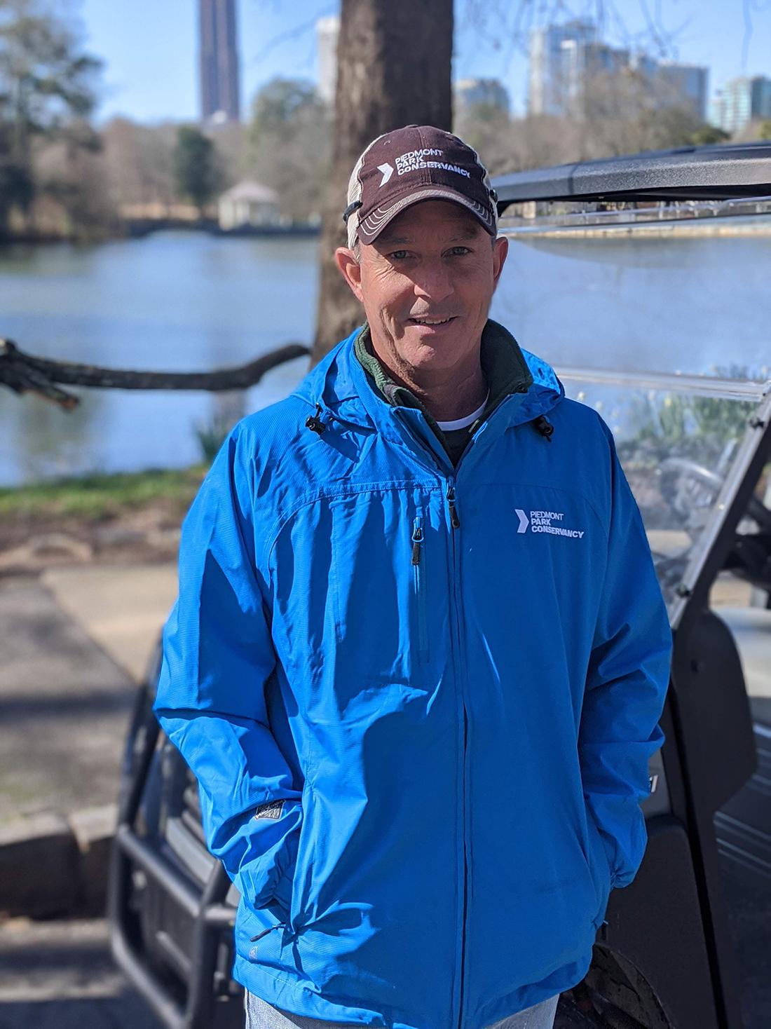 David Esslinger, Director of Operations at the Piedmont Park Convservancy.
