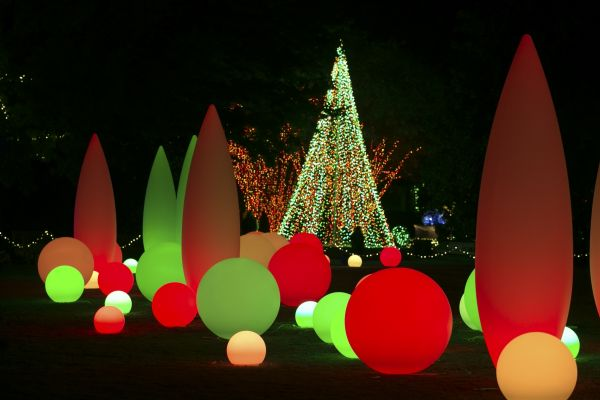 Garden Lights Holiday Nights At The Atlanta Botanical Garden News Center Midtown Atlanta