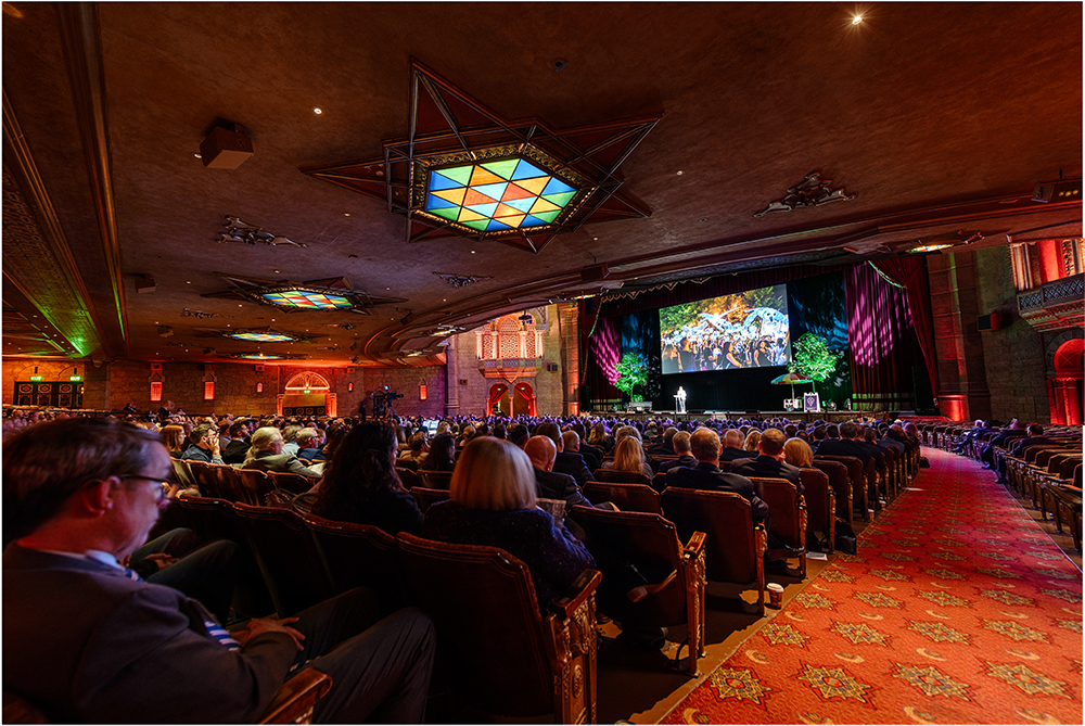 More than 1,200 people attended the 2020 Midtown Alliance Annual Meeting at the Fox Theatre on February 25 to celebrate accomplishments of the past decade and imagine what Midtown could become ten years from now.