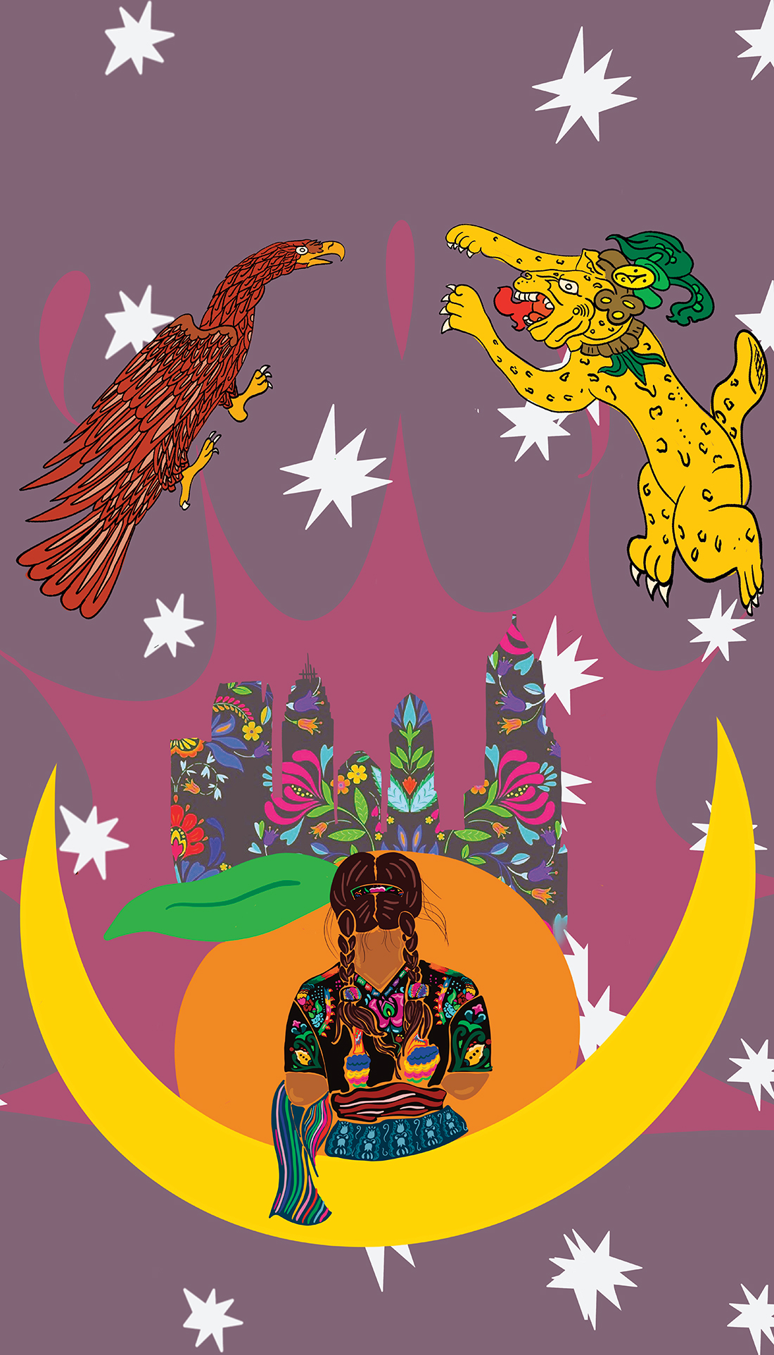 Atlanta Y Mis Dioses, by Patricia Hernandez.