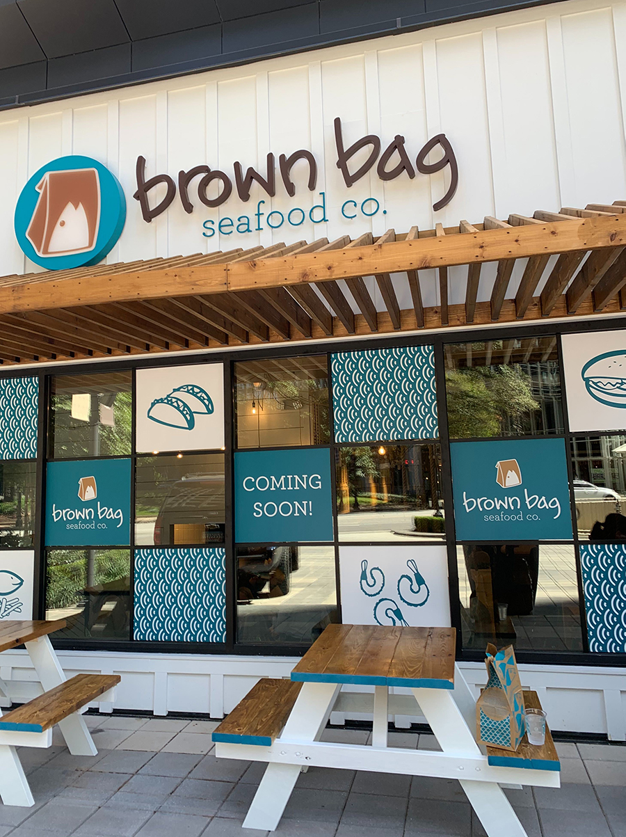 Brown Bag Seafood Co. opened Oct. 1,