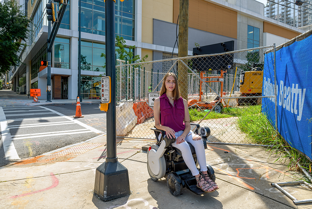 The Americans With Disabilities Act turned 30 in July of this year, but there's still work left to do in Midtown