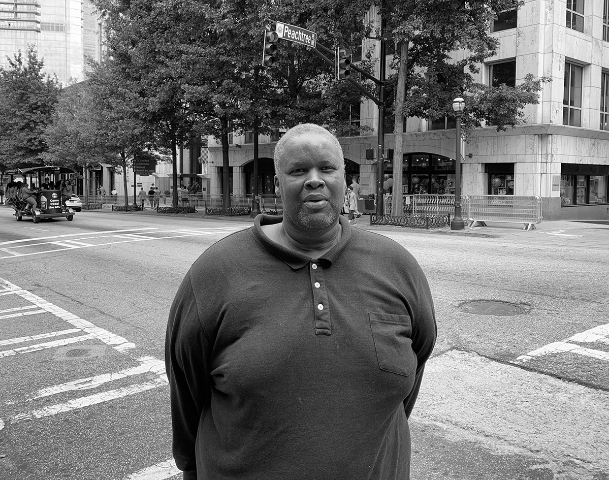 This month's installment features Midtown Blue Public Safety Officer Chandral Pickett and a man she recently helped to find his way out of homelessness.
